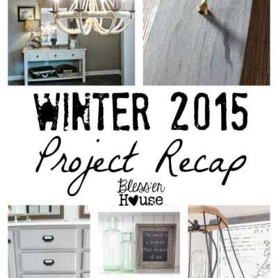 Winter 2015 Project Recap