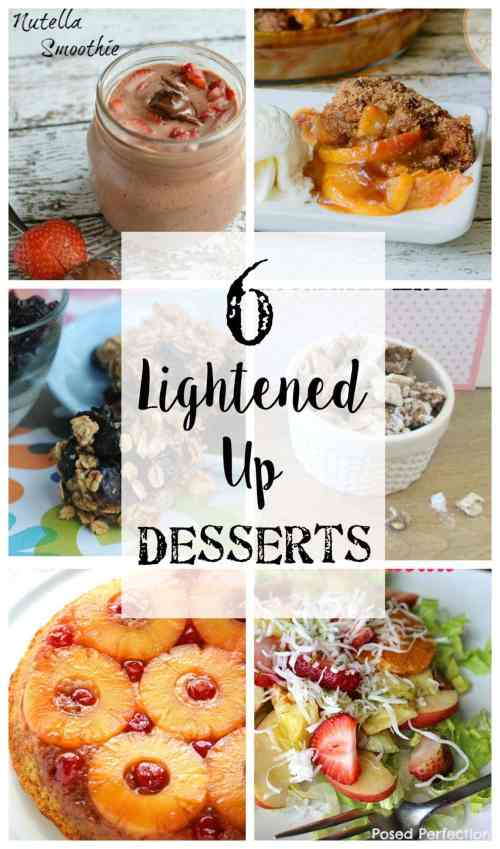 6 Lightened Up Dessert Recipes | Bless'er House
