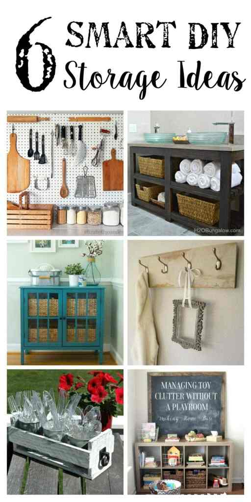 6 DIY Storage Ideas + YTTS #36 | Bless'er House