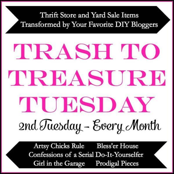 trash to treasure tuesday