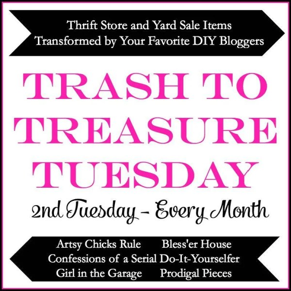 trash to treasure tuesday