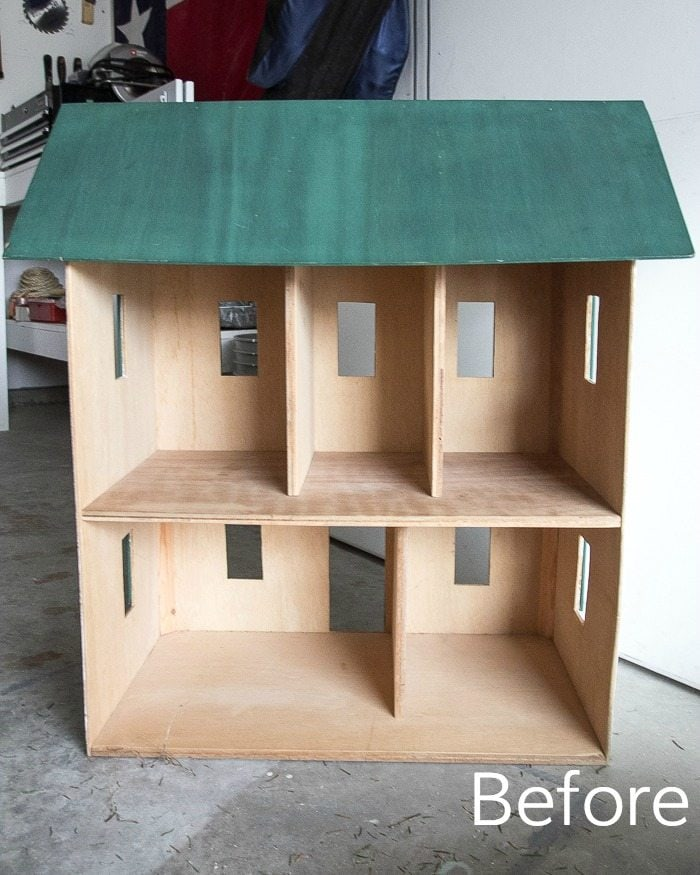 Santa Thrifting And Dollhouse Makeover