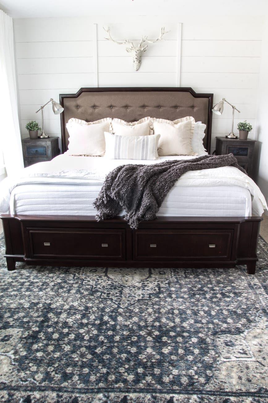 New Rug in the Master Bedroom  Blesser House