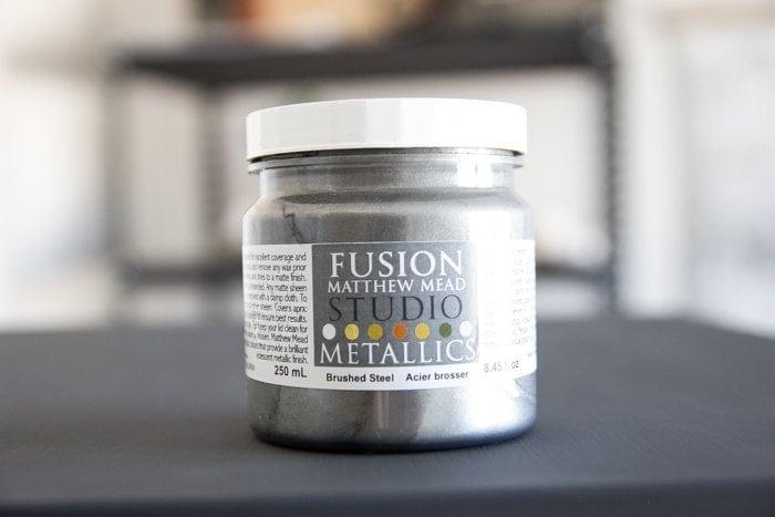 Faux Zinc Safe Makeover   blesserhouse.com