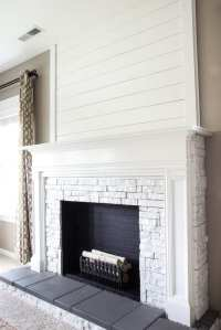 DIY Faux Fireplace Updated - Bless'er House