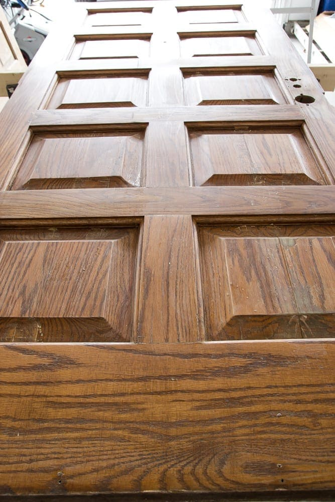 How to Distress Hollow Core Doors  Blesser House