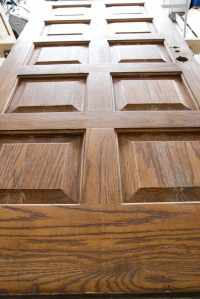 How to Distress Hollow Core Doors - Bless'er House