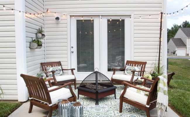 How To Decorate A Small Patio Bless Er House