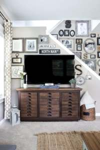 Decorating Around a TV - Bless'er House
