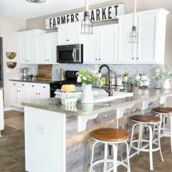 Kitchen Makeovers Cabinets Warehouse Modern Farmhouse Makeover Reveal Bless Er House Blesserhouse Com So Many Budget Friendly Diy