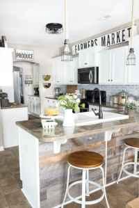 Modern Farmhouse Kitchen Makeover Reveal - Bless'er House