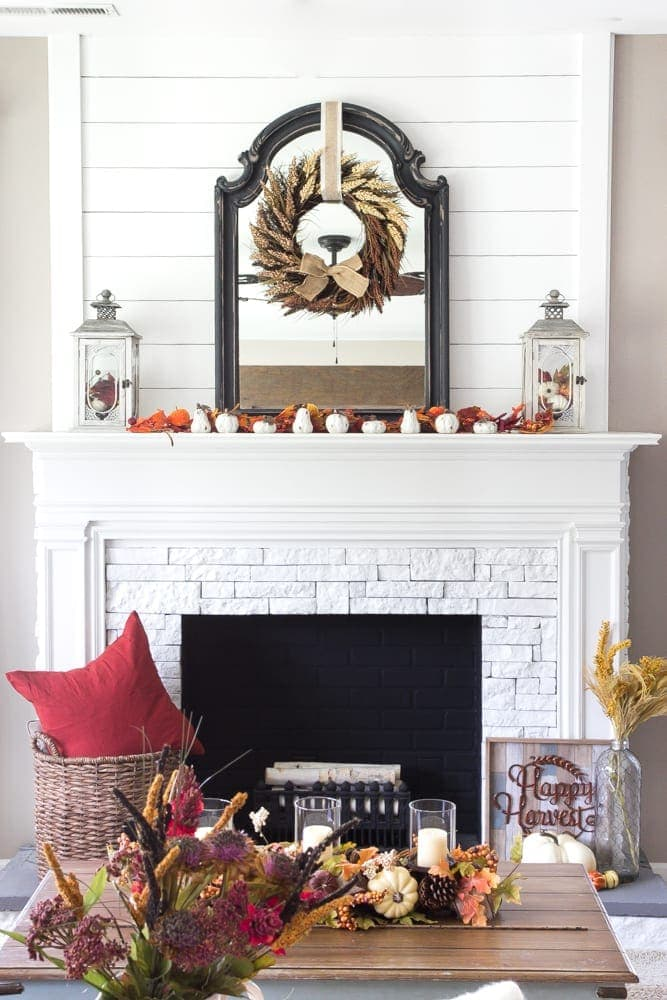 decor living room 2016 how to paint a wall harvest and giveaway bless er house blesserhouse com simple decorating ideas using