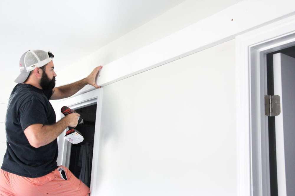 medium resolution of how to install sliding barn doors blesserhouse com a quick tutorial to show