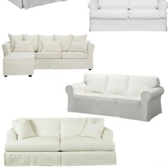 White Slipcovered Sofa Living Room Cool Wall Art For 10 Sofas On A Budget Bless Er House Tight Blesserhouse Com Shopping Guide