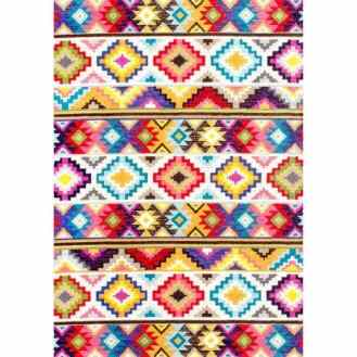 colorful playroom rug 9