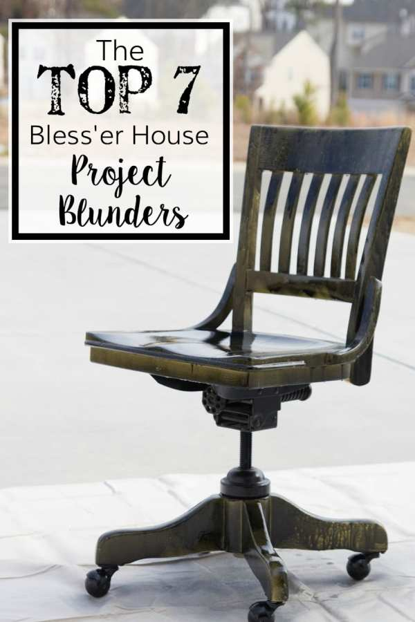 The Top 7 Bless'er House Project Blunders | blesserhouse.com