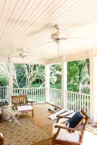 Haint Blue Porch Ceiling Makeover - Bless'er House