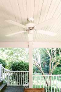 Haint Blue Porch Ceiling Makeover