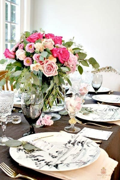 Romantic-French-Country-Summer-Table-setting