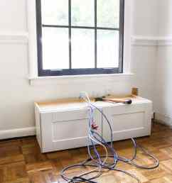 diy window seat from a kitchen cabinet blesserhouse com a simplified tutorial for [ 1250 x 1000 Pixel ]