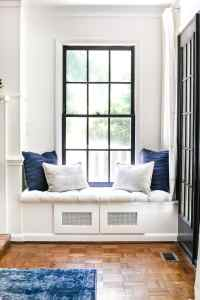 DIY Window Seat From a Kitchen Cabinet - Bless'er House