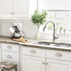 Inexpensive Backsplashes For Kitchens Kitchen Cabinet Door Bumper Pads Diy Pressed Tin Backsplash Bless Er House Blesserhouse Com How To Makeover A
