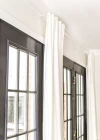 How To Hang Curtains Long Window