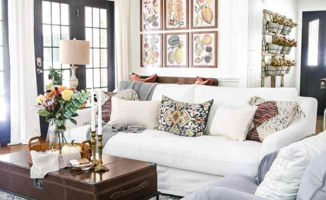 8 Fall Decorating Tips For A Budget And Fall Home Tour