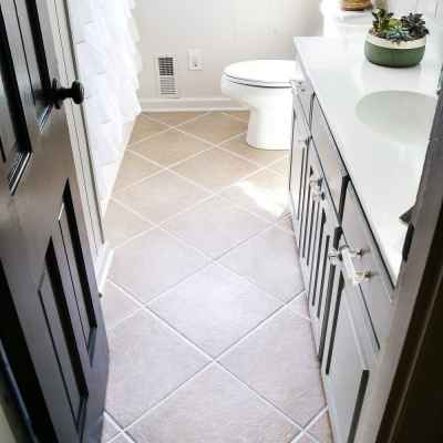 Painted Tile Grout Refresh