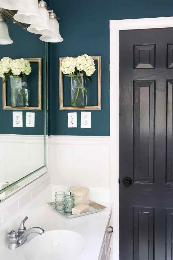 How to Make Your Home Look Luxurious on a Budget | blesserhouse.com - 8 tips to make your home look luxurious on a budget with ideas for choosing finishes, lighting, art, and small details that only look expensive. bathroom wall decor