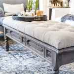 Diy Ottoman Bench From A Repurposed Coffee Table Bless Er
