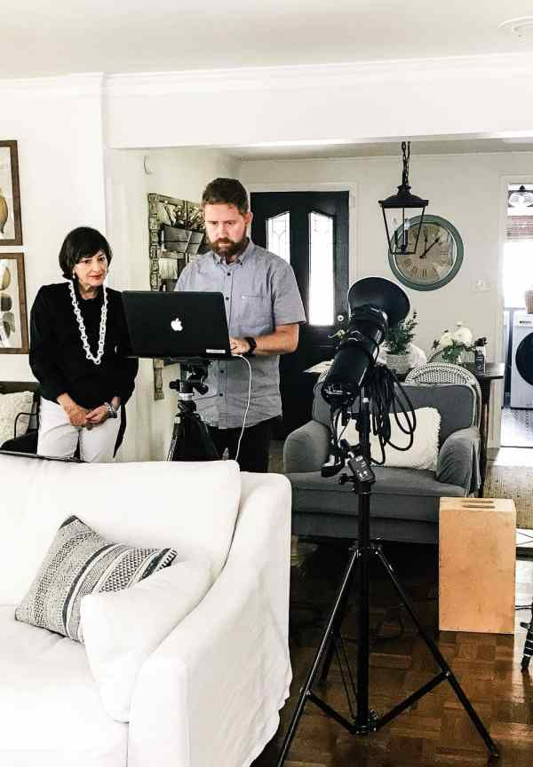 Better Homes and Gardens Magazine Photo Shoot | blesserhouse.com - A recap and behind-the-scenes of a Better Homes and Gardens magazine photo shoot stylist and photographer #betterhomesandgardens #photoshoot