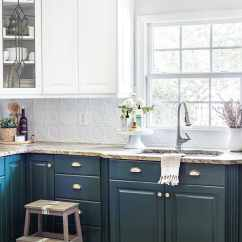 Green Kitchen Cabinets Aid Classic Plus Cabinet Update Bless Er House Sherwin Williams Billiard Lower