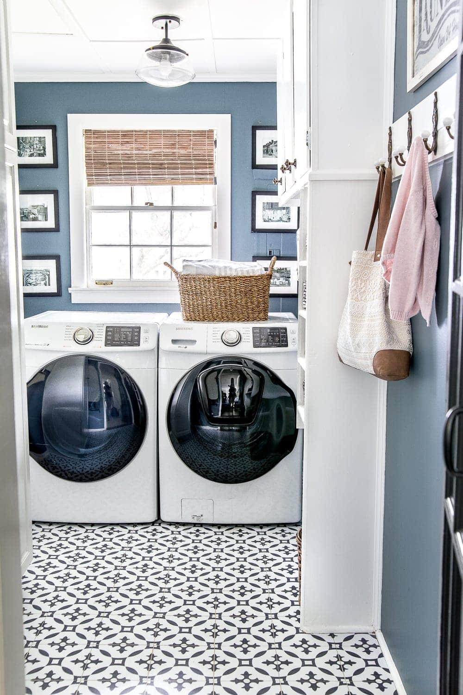 Laundry room color - Sherwin Williams Slate Tile