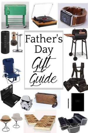 Father's Day Gift Guide - 15 fun and unique gift ideas to give for Father's Day 2018. #fathersdaygiftideas #fathersdaygiftguide #fathersday #fathersdaygifts #fathersdaypresents #fathersdayideas
