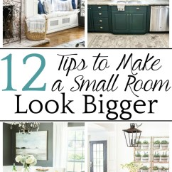 How To Make Living Room Modern Cabinet A Small Look Bigger Bless Er House 12 Tips For Decorating Furniture Selecting Choosing Paint Colors And Utilizing Function