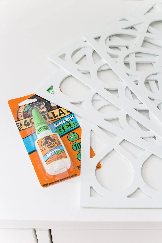How to add O'verlays appliques to a plain IKEA dresser