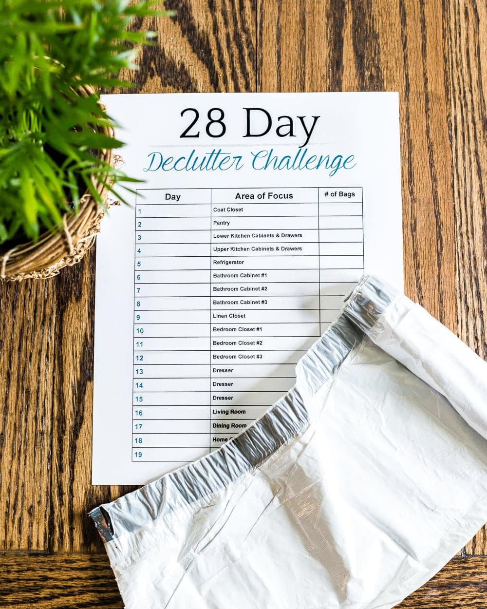 How to declutter your entire house in less than a month