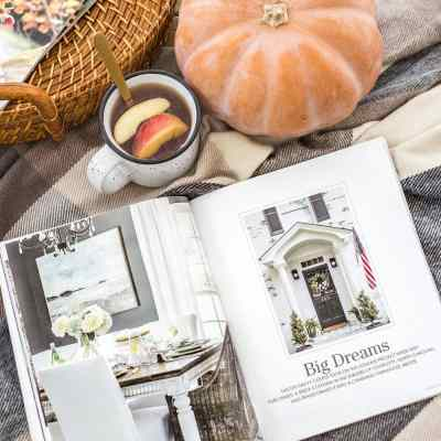 Southern Cottage Magazine Spread