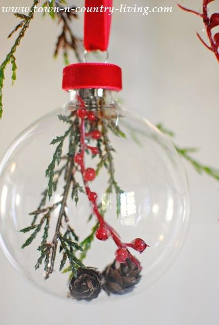 DIY Glass Ball Christmas Ornaments