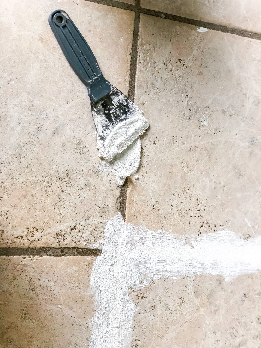 How to install sheet vinyl flooring over old tile   fill grout lines