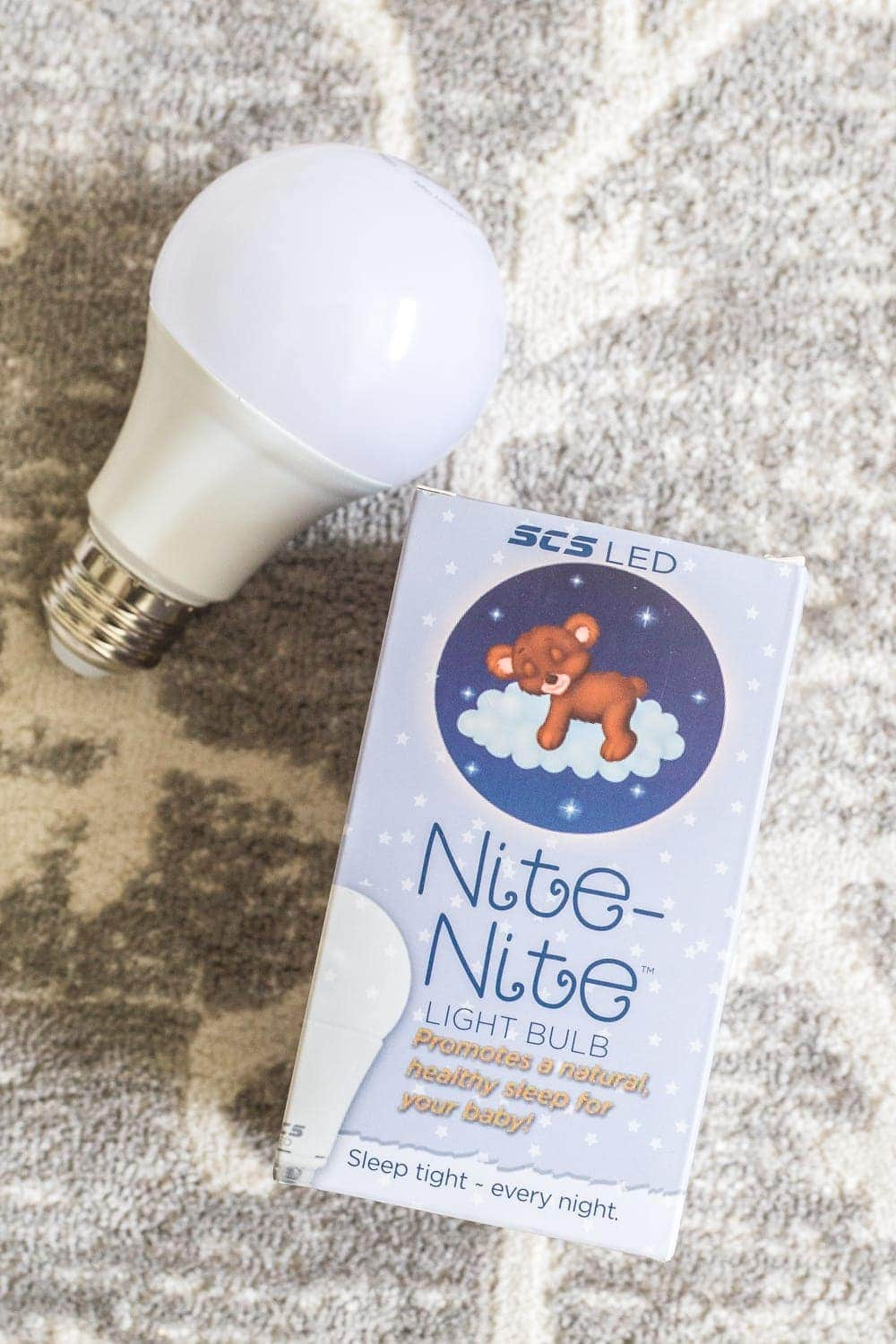 The Best Bedroom Light Bulb to Promote Sleep | Our non-biased 5 month test drive of sleep promoting light bulbs and how they help settle children, babies, and adults for bedtime. #babysleep #insomnia #lightbulb #lighting #ambience #bedroomlight #kidsbedtime #sleepsolutions