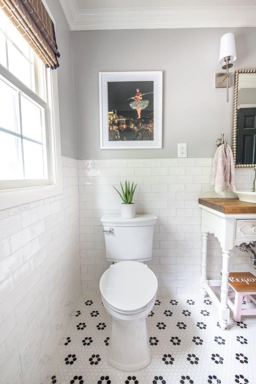 Kids Bathroom Makeover Reveal  Blesser House
