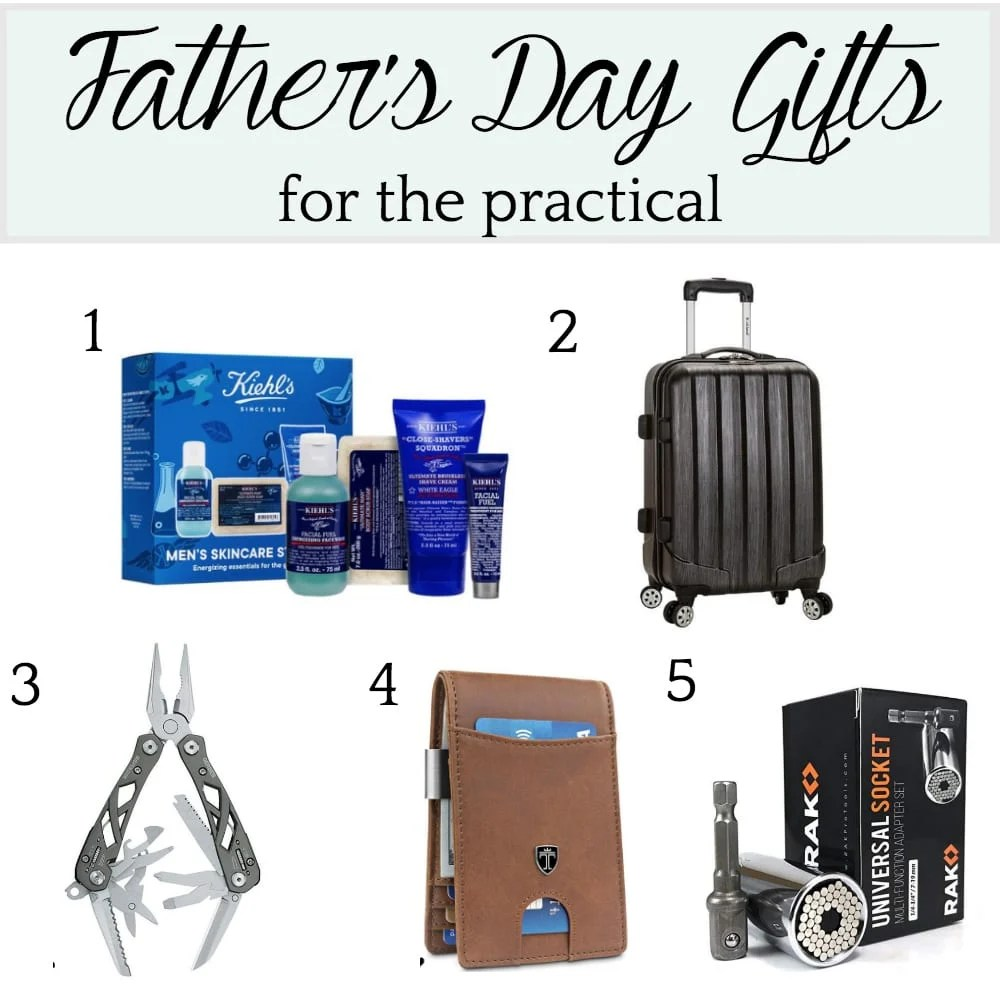 Father's Day Gift Ideas for the Practical