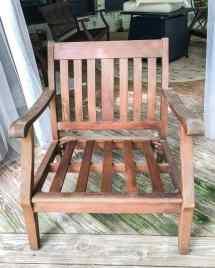 restore wood outdoor furniture
