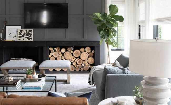 12 Ideas To Decorate Around A Tv Bless Er House