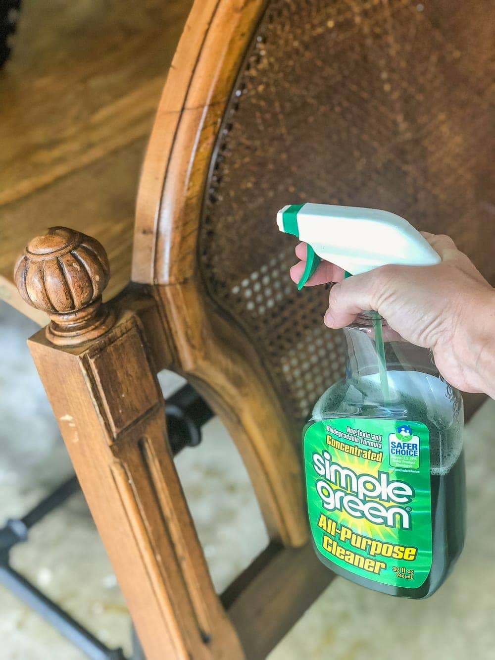 How to get stale cigarette smell and tar out of furniture