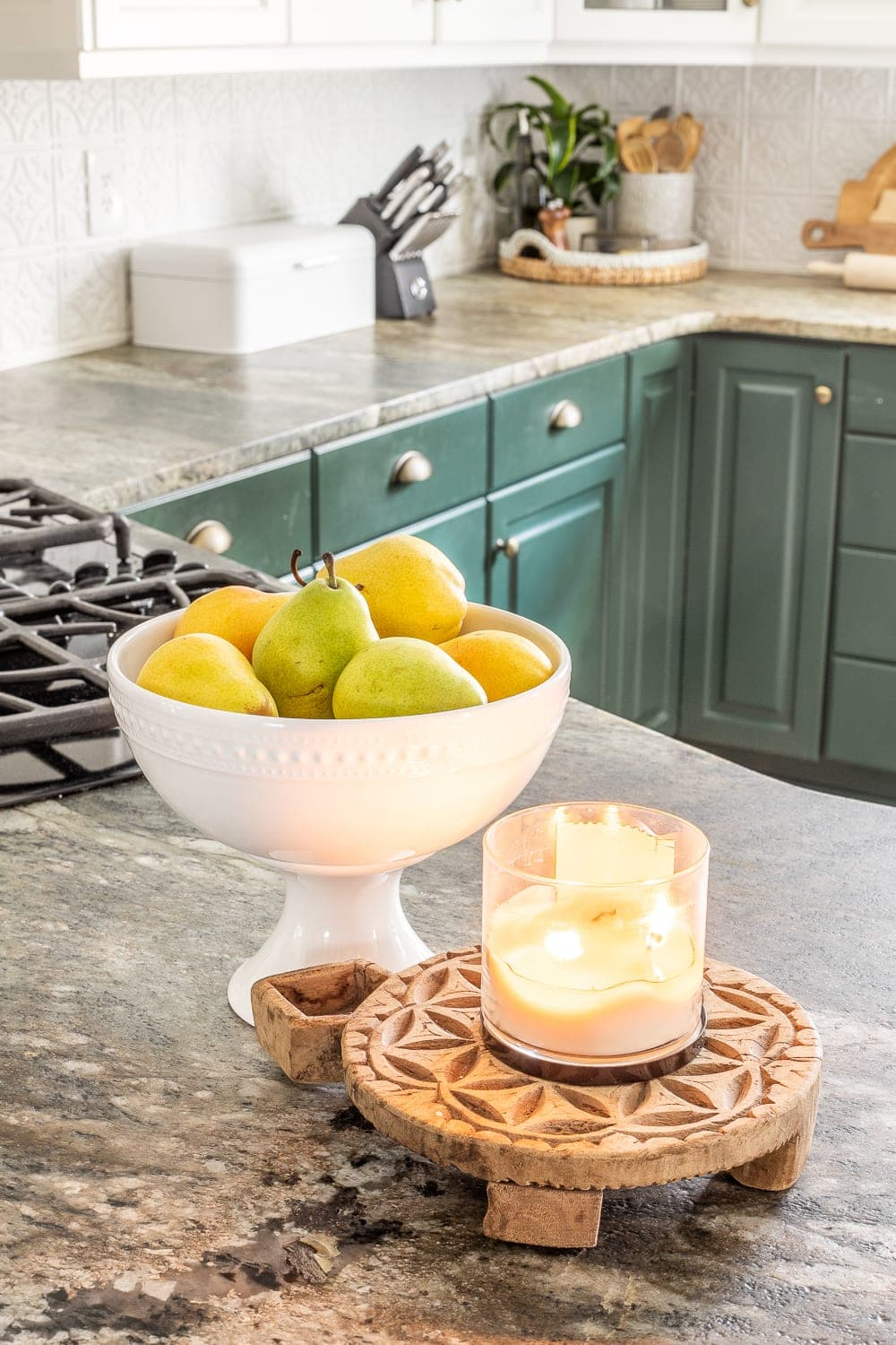 Simplified Decorating How To Decorate Kitchen Countertops Bless Er House