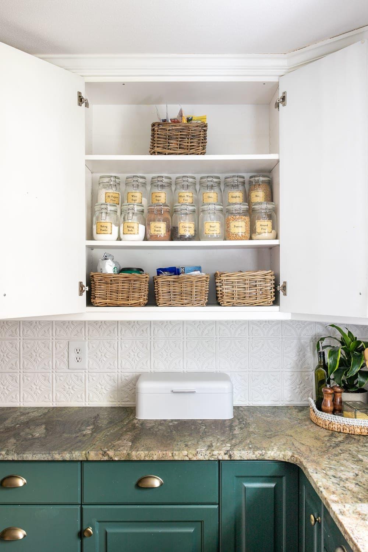 Kitchen Organization Makeover | Pantry Cabinet Organization