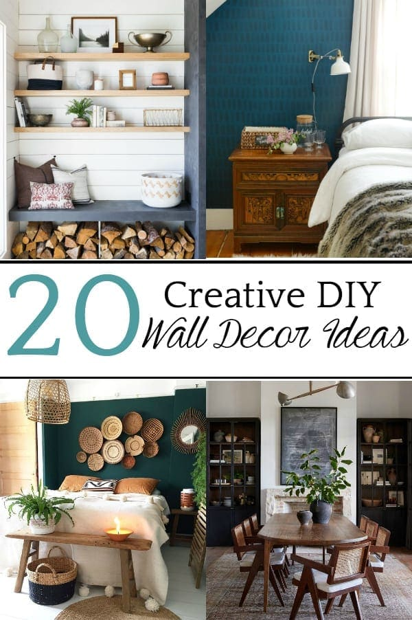 20 Creative Diy Wall Decor Ideas For Your Blank Walls Bless Er House